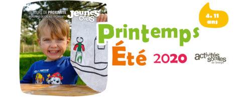 Catalogue colos de proximité printemps / été 2020